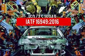 Auditor de Sistemas IATF 16949:2016